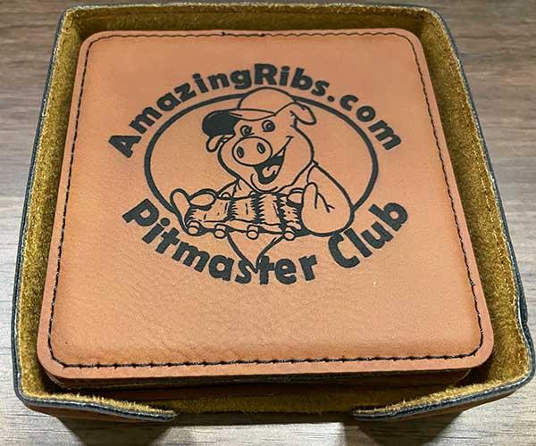 Pitmaster Coaster Set