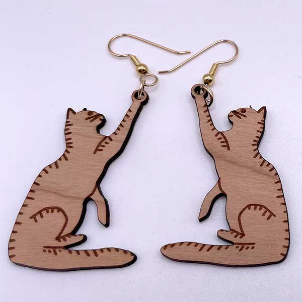 Cat Play Earrings